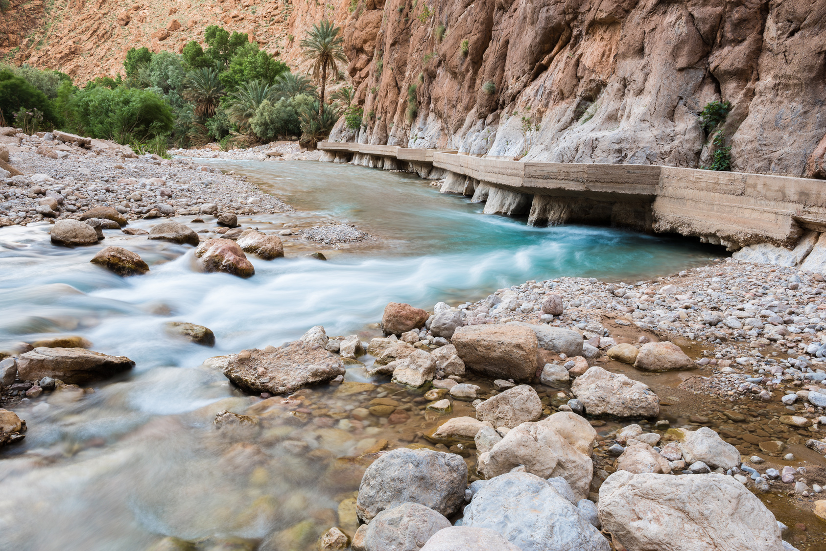 Tinerhir oasis Todra Canyon