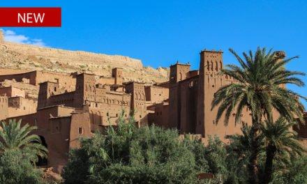 Through Atlas Mountains to Aid Ben Haddou