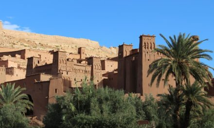 Through Atlas Mountains to Aid Ben Haddou