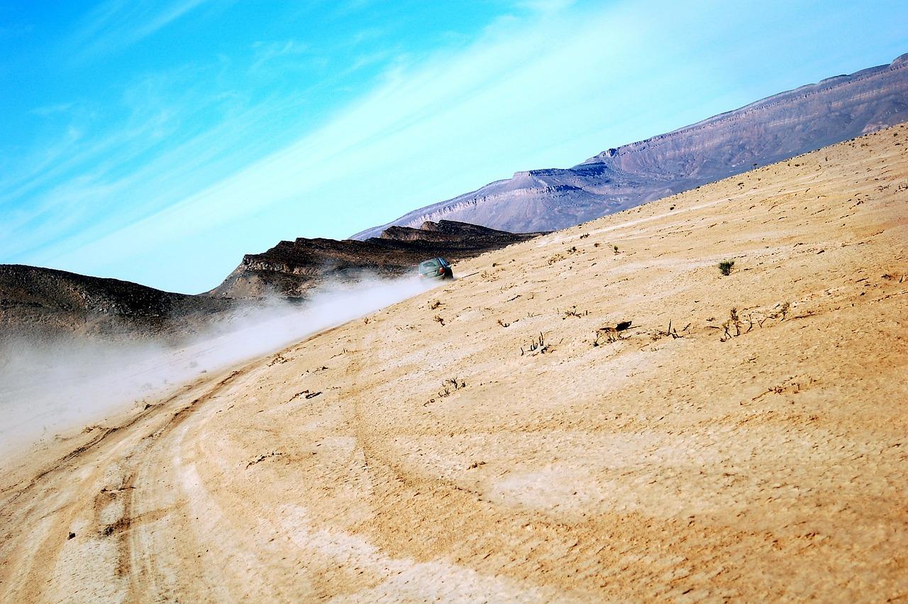 Merzouga golden dunes